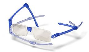 Nanni Compact Reading Glasses - Colour Blue